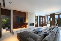 casas modernas interiores - Buscar con Google