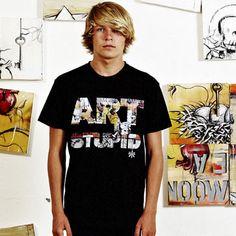 Art is Stupid Black