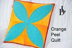 Orange peel Quilt - Patchworková šablona