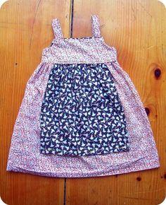 farm girl apron dress.