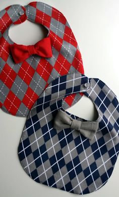 Baby Boy Red & Navy Blue Argyle by MoreAdventurousCo on Etsy