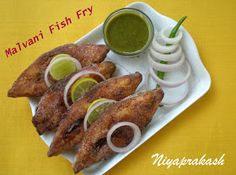 Niya's World: Malvani Fish Fry You are in the right place about healthy frying fish Here we offer you the most beautiful pictures about the frying fish louisiana you are looking for. When you examine Fried Fish Recipes, Seafood Recipes, Indian Food Recipes, Ethnic Recipes, Maharashtrian Recipes, Battered Fish, Fish Fry, Fish Dinner, Curry Recipes