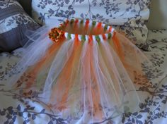 Pumpkin Tutu  medium by DestinationDiva on Etsy, $20.00