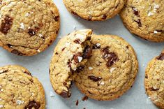 These Chocolate Chunk Cookies are thick, buttery and loaded with chocolate chunks. Top them with a generous sprinkle of sea salt and be prepared to find your new favorite cookie.Bonus: the recipe uses melted butter, so they are easy and quick to make.