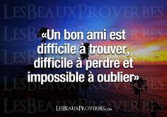 Les Beaux Proverbes – Proverbes, citations et pensées positives » » Impossible à oublier