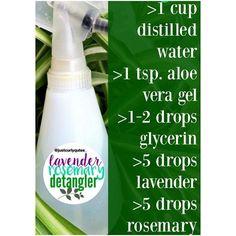 Essential oil hair detangler#healthyhairjourney #naturalhair #diy#detangler #allhairtypes