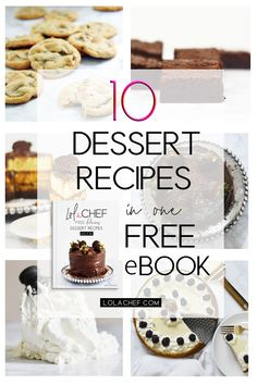 10 Dessert recipes in a FREE ebook! grab your copy now! Delicious Desserts, Dessert Recipes, Recipe Community, Recipe Collection, Free Ebooks, Free Food, Pdf, Homemade, Group