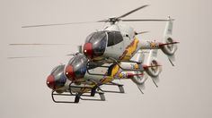 Spanish Air Force Eurocopter EC 120B Colibri.