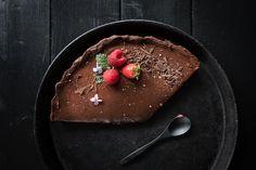 [gewinnspiel/backwettbewerb]: dunkle kaffeeschokoladentarte mit fleur de sel und meet'n'greet trickytine in stuttgart | trickytine | Bloglovin'