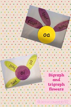 Phonics flowers. Put the petals with the correct sound in around the centre of the flower.