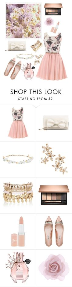"""""""Spring outfit I"""" by emiliefrenchgirl ❤ liked on Polyvore featuring RED Valentino, Design Lab, Bonheur, River Island, Rimmel, Miu Miu, Viktor & Rolf, Accessorize and 56"""