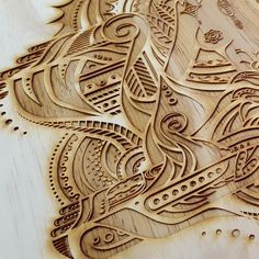 Laser engraved plywood design by Sean duffell #laserlinx #laserengraving #lasercut #laserengraved #plywood #woodcraft #nz #newzealand by laserlinx