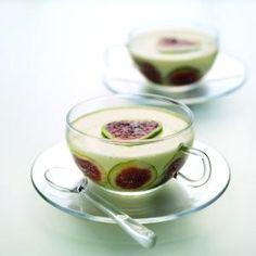 Fig and Honey Pannacotta