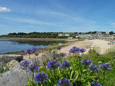 Porthcressa Beach, Isles of Scilly, Cornwall, England. Sailing Day, Sailing Trips, Beautiful Islands, Beautiful World, Wonderful Places, Beautiful Places, Scilly Island, Coastal Gardens, Seaside Village