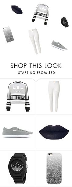 """Shopping Day!!!"" by dyhmonae on Polyvore featuring adidas Originals, River Island, Puma and adidas"
