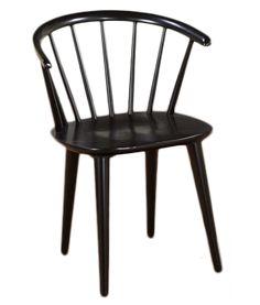 baxton studio wishbone modern black wood dining chair with light brown hemp seat by baxton studio shops studios and chairs