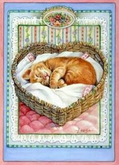 """My Rudy """"Roo Roo"""" os an angel now and crossed the Rainbow Bridge Animal Paintings, Animal Drawings, Indian Paintings, Abstract Paintings, Art Paintings, Pretty Cats, Cute Cats, Animals And Pets, Cute Animals"""