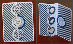 I've definitely been loving lighthouses lately, so I was thrilled when Mary at SVG Cuts designed this wonderful one. Z Cards, Step Cards, Nautical Cards, Nautical Theme, Fancy Fold Cards, Folded Cards, Swing Card, Masculine Birthday Cards, Shine Your Light