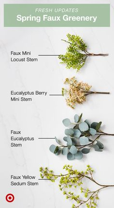 Mix in some new Hearth and Hand spring faux greenery like eucalyptus, locust, sedum and more.