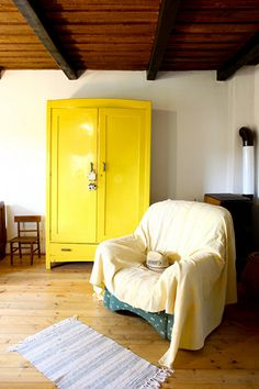 Loving this Yellow Fellow Wardrobe? Couture Furniture is an official furniture home gallery that offers reproduction at a fraction of a price. Contact us today and mention CF@PINTEREST to receive the best price we can offer!