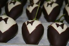 Get your chocolate tuxedo on! -NN