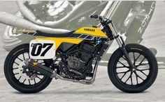 DT-07 Flat Track Concept - RocketGarage - Cafe Racer Magazine