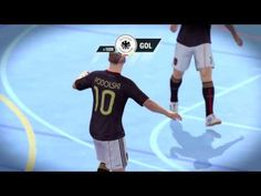 Fifa Street Gameplay Xbox 360   Argentina Vs Alemania, Muchos Goles, Due...