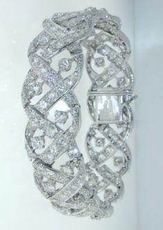 Cartier - CARTIER LONDON Magnificent Diamond Bracelet - Hancocks