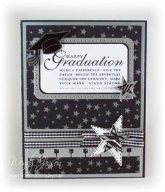 stars graduation card
