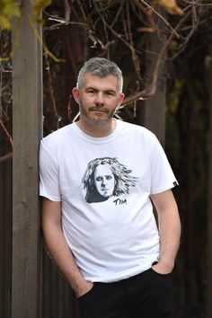 High Tees - Directory - The Make It Collective. When you wear a High Tees, you are not wearing any old t-shirt. You are wearing an Ode to your HERO. You are wearing your ICON, your  IDOL. #handmade #australianhandmade #handmadegifts #handmadefashion #timminchin