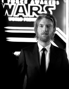 Domhnall Gleeson (General Hux) at the Force Awakens premiere