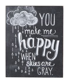 """You Make Me Happy"" Wall Hanging"