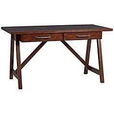 Carolina Preserves Blue Ridge Imagination Rustic Cherry Desk, $400