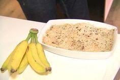 Crumble de Banana, por chef Izabela Braga