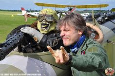 On Saturday July, Maiden headlined Sonisphere Festival. And to add a little bit extra to the day, Bruce and The Great War Display Team did a. Rock And Roll Bands, Rock N Roll, Hard Rock, Eddie The Head, Iron Maiden Band, Adrian Smith, Bruce Dickinson, Black Sabbath, Metalhead