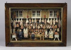 Butcher's Shop Model, ca. 1800