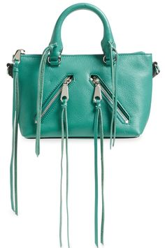 MICHAEL Michael Kors Bowling Bag Kelly Green Leather Satchel 64% off retail