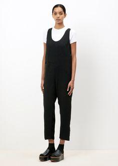 Rachel Comey Black Barrel Jumpsuit