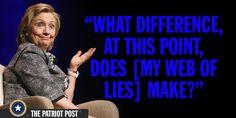 Clinton the 'Congenital Liar'