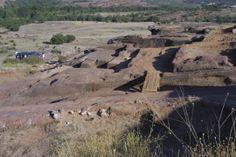 Excavaciones en el poblado romano de Tiermes. Tiermes, Soria. Spain.   [By Valentin Enrique].