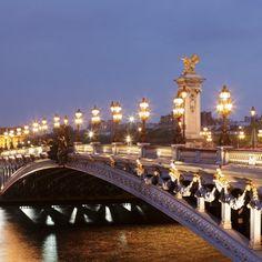 Paris Paris, France landmark City night cityscape metropolis evening bridge plaza place of worship cathedral basilica dusk long