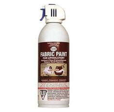 Fabric Paints and Markers 134560: Upholstery Spray Fabric Paint 8 Ounces-Saddle Brown Upholstery Quickly And Easily -> BUY IT NOW ONLY: $200 on eBay!