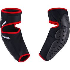 Alpinestars Mens Volcano Elbow Guard Jacket BlackRed SmallMedium -- Want to know more, click on the image.(This is an Amazon affiliate link and I receive a commission for the sales)