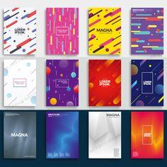 时尚几何点线面动感平面广告h5网页活动宣传海报设计背景矢量素材-淘宝网