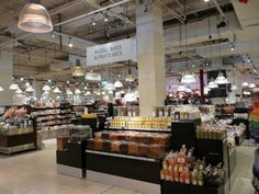La Grande Epicerie in the Bon Marche department store. Dean & Deluca on steroids. If you're a foodie, it's mecca.
