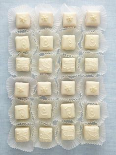 Non-Traditional Wedding Cake & Wedding Dessert Ideas:  Petit Fours