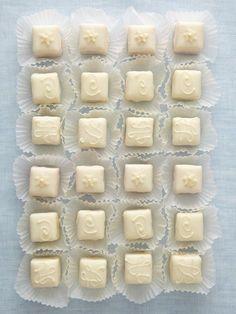 Non-Traditional Wedding Cake & Wedding Dessert Ideas:  Petit Fours