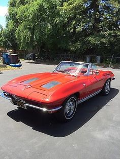Chevrolet: Corvette convertible 1963 corvette stingray Plus