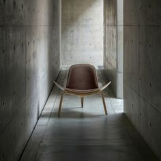 """""""Hans Wegner designed the Shell Chair in 1963 with the intent of creating an innovative, comfortable, and unique chair that looked beautiful from all angles"""""""