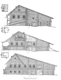Жилые постройки - m-der.ru Музей Дерева